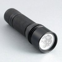 2CR123A cells 7 LED Aluminium Flashlight